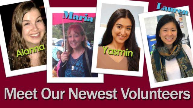 New Volunteers Banner